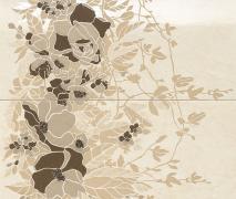 Composizione Floreale Crema Marfil - obkládačka inzerto set 50x59,1 krémová