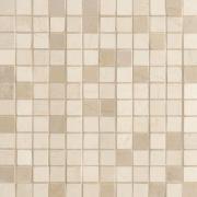 Mosaico 2,5x2,5 Lustro Crema Marfil - obkládačka mozaika 29,5x29,5 krémová