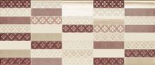 Mosaico Inciso Beige/Bordeaux - obkládačka inzerto 26x61