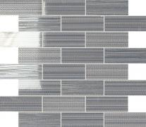 Mosaico Lustro Rettangolo Lava - obkládačka mozaika 30x30 šedá