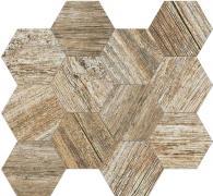 Time Design Mosaico Esagona Ambra - dlaždice mozaika 31,5x36,5 béžová