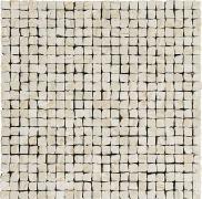 Imperial Mosaico Spacco Lapp. Crema - dlaždice mozaika 30x30 béžová