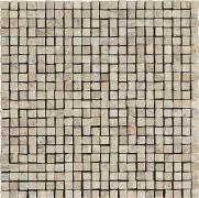 Imperial Mosaico Spacco Lapp. Cappuccino - dlaždice mozaika 30x30 béžová