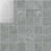 Mosaico 5x5 Lapp. Grigio Imperiale - dlaždice mozaika 30x30 šedá