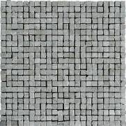 Mosaico Spacco Lapp. Grigio Imperiale - dlaždice mozaika 30x30 šedá