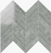 Chevron Lapp. Grigio Imperiale - dlaždice mozaika 24,7x30 šedá
