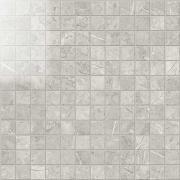 Imperial Mosaico 2,5x2,5 Lapp. London Grey - dlaždice mozaika 30x30 šedá