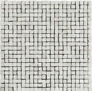 Imperial Mosaico Spacco Lapp. London Grey - dlaždice mozaika 30x30 šedá