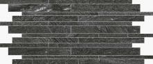 Muretto Graphite - dlaždice mozaika 30x60 šedá