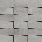Walking Extra Mosaico 3D 5x10 Iron - obkládačka mozaika 30x30 šedá