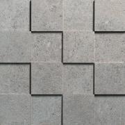 Walking Extra Mosaico 3D 7,5x7,5 Iron - obkládačka mozaika 30x30 šedá