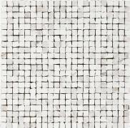 Mosaico Spacco Calacatta Bianco - obkládačka mozaika 30x30 bílá