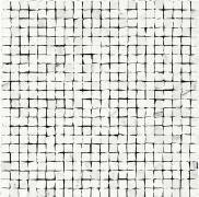 Mosaico Spacco Statuario - obkládačka mozaika 30x30 bílá