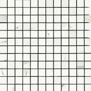 Mosaico 2,5x2,5 Statuario - obkládačka mozaika 30x30 bílá