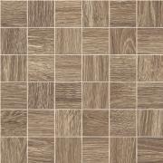 Mosaico 5x5 Lino - dlaždice mozaika 30x30 hnědá