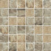 Mosaico 5x5 Mud - dlaždice mozaika 30x30 hnědá