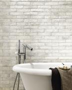Materia Brick Ghiaccio - dlaždice 6x25 bílá