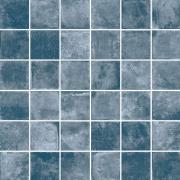 Mosaico 5x5 Blue - dlaždice mozaika 30x30 modrá