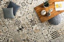 Materia Decori Floralis Mix - dlaždice 30x30