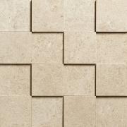 Mosaico 3D 7,5x7,5 Beige - obkládačka mozaika 30x30 béžová
