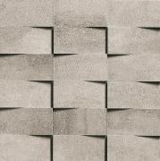 Mosaico 3D 5x10 Grigio Chiaro - obkládačka mozaika 30x30 šedá