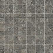 Mosaico 2,5x2,5 Antracite - dlaždice mozaika 30x30 šedá