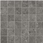 Mosaico 5x5 Antracite - dlaždice mozaika 30x30 šedá