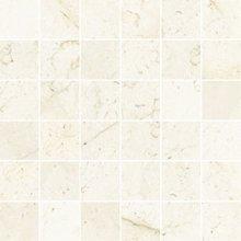 Mosaico 5x5 Lev. Marfil - dlaždice mozaika 30x30 béžová lesklá