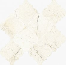 Provenzale Levigato Marfil - dlaždice mozaika 30,2x32,3 béžová lesklá