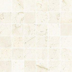 Imperial Mosaico 5x5 Satin Marfil - dlaždice mozaika 30x30 béžová