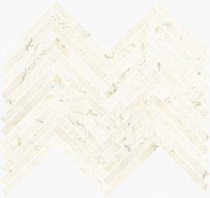 Imperial Lisca Satin Marfil - dlaždice mozaika 41,5x30 béžová
