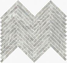 Imperial Lisca Levigato Bardiglio - dlaždice mozaika 41,5x30 šedá