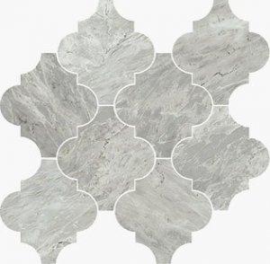 Imperial Provenzale Satin Bardiglio - dlaždice mozaika 30,2x32,3 šedá