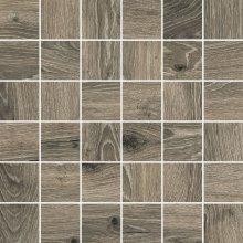 Mosaico 5x5 Timber - dlaždice mozaika 30x30 hnědá