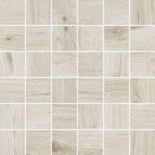 Eiche Mosaico 5x5 Alpin - dlaždice mozaika 30x30 bílá