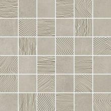 Mosaico 5x5 Mix Ash - dlaždice mozaika 30x30 šedá