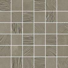 Paris Mosaico 5x5 Mix Ciment - dlaždice mozaika 30x30 šedá