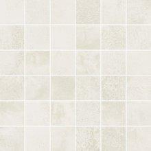 Mosaico 5x5 Plume - dlaždice mozaika 30x30 bílá