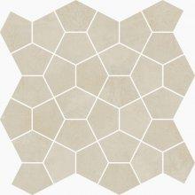 Mosaico Losanga Amande - dlaždice mozaika 27x27 béžová