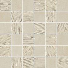 Mosaico 5x5 Mix Amande - dlaždice mozaika 30x30 béžová