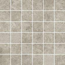 Overland Mosaico 5x5 Grigio - dlaždice mozaika 30x30 šedá