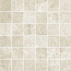 Overland Mosaico 5x5 Avorio - dlaždice mozaika 30x30 slonová kost