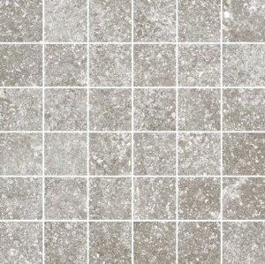 Kingstone Mosaico 5x5 Platinum - dlaždice mozaika 30x30 šedá