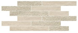Norgestone Muretto Mix Taupe - dlaždice mozaika 30x60 béžová