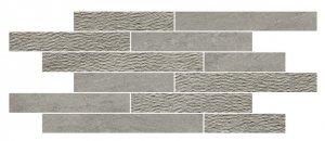 Norgestone Muretto Mix Light Grey - dlaždice mozaika 30x60 šedá