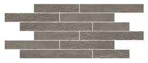 Norgestone Muretto Mix Dark Grey - dlaždice mozaika 30x60 šedá
