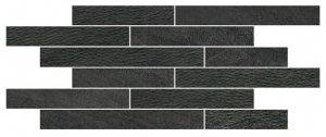 Norgestone Muretto Mix Slate - dlaždice mozaika 30x60 černá