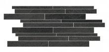 Norgestone Muretto Slate - dlaždice mozaika 30x60 černá