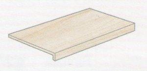 Norgestone Gradino Elle Rett. Slate - schodovka 33x120x4 černá