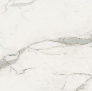 Imperial Bianco Apuano Naturale Rett. - dlaždice rektifikovaná 60x60 bílá